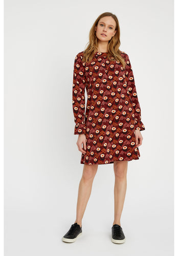 V&A Daisy Print Short Dress