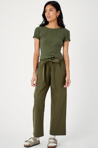 Back Beat Co. Hemp Veda Pant - Army