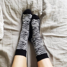Load image into Gallery viewer, Socks that Protect Zebras