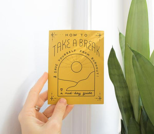 Little Take a Break Zine on Recycled Paper
