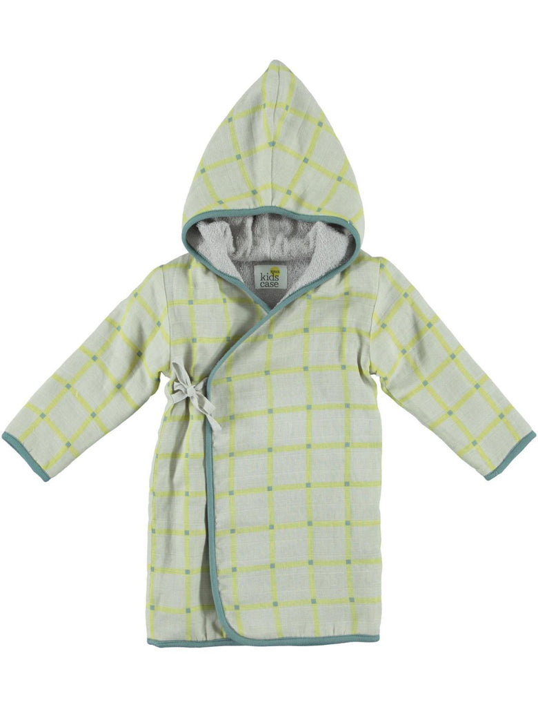 Kidscase Home - Check Bathrobe