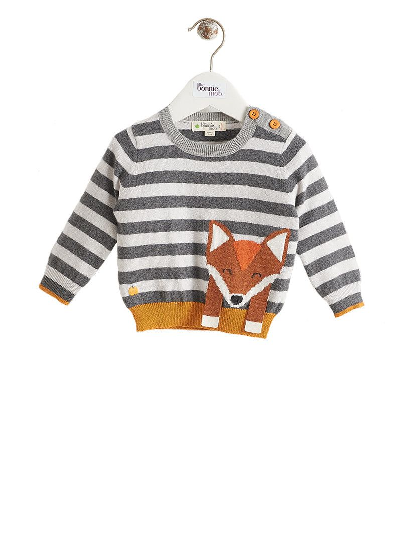 BonnieMob - Lorek Fox Intarsia Sweater