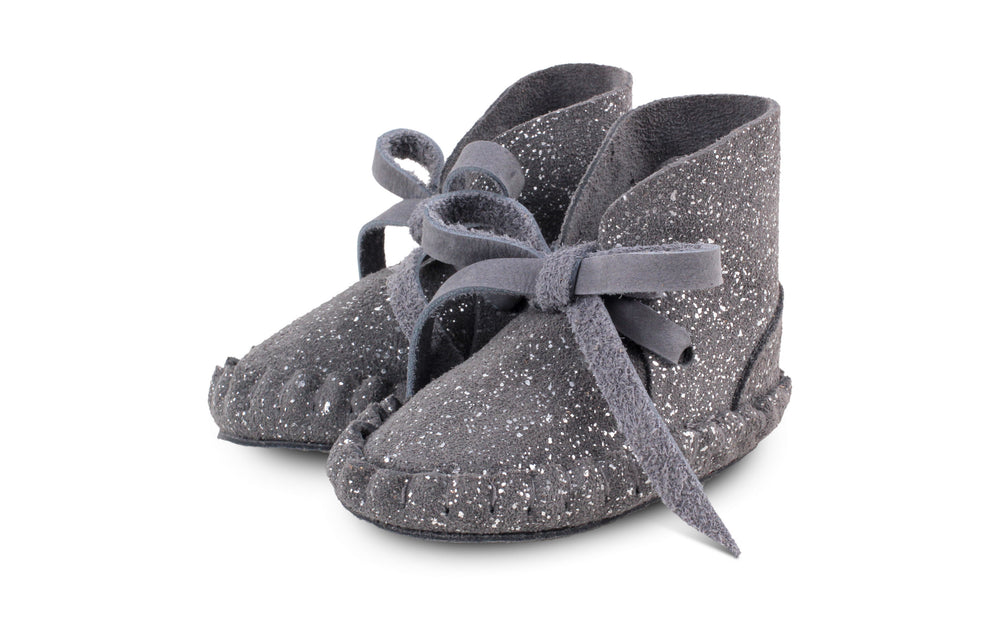 Donsje - Pina Exclusive - Metallic Grey Suede
