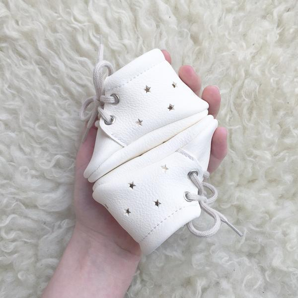 Little Lambo - Milk Star Booties