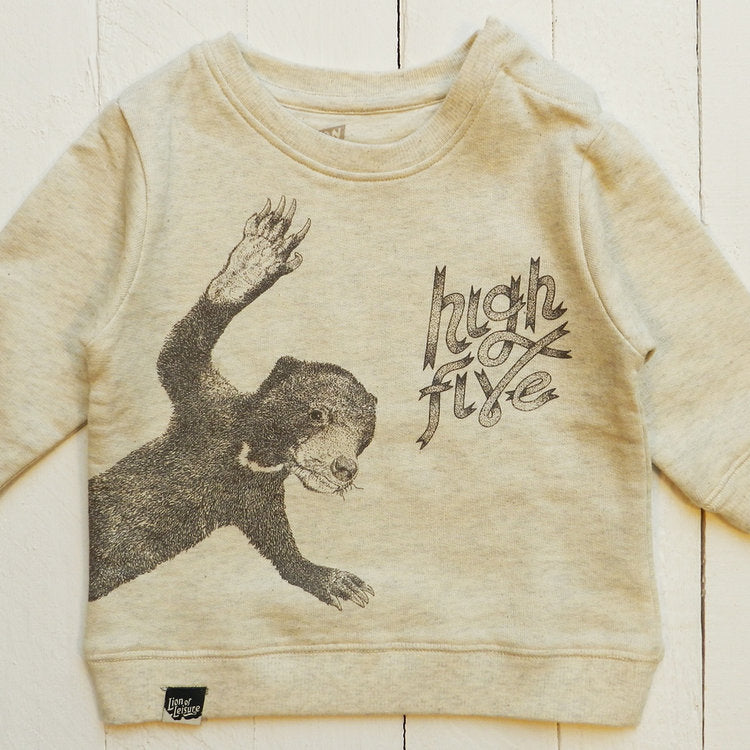 Lion Of Leisure - Bear Baby Sweater
