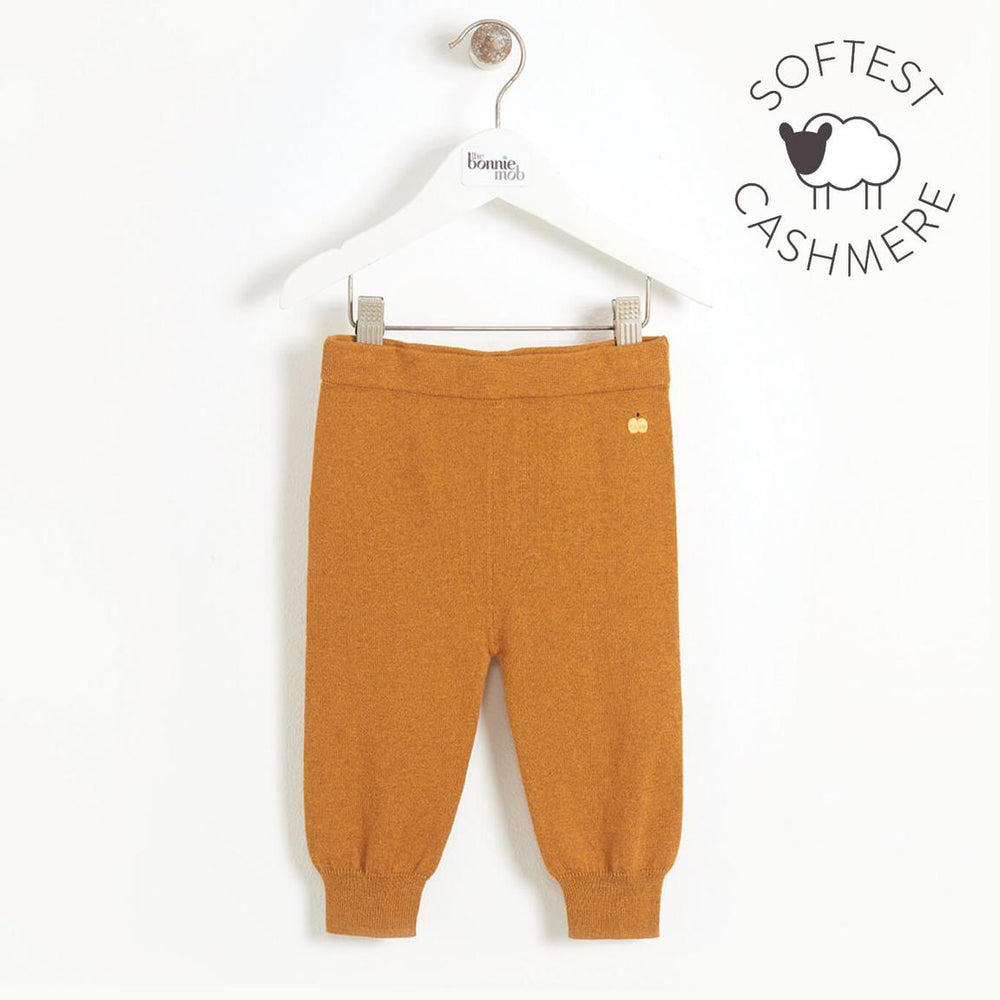 BonnieMob - Eskimo Jogging Style Knitted Trouser (ginger)