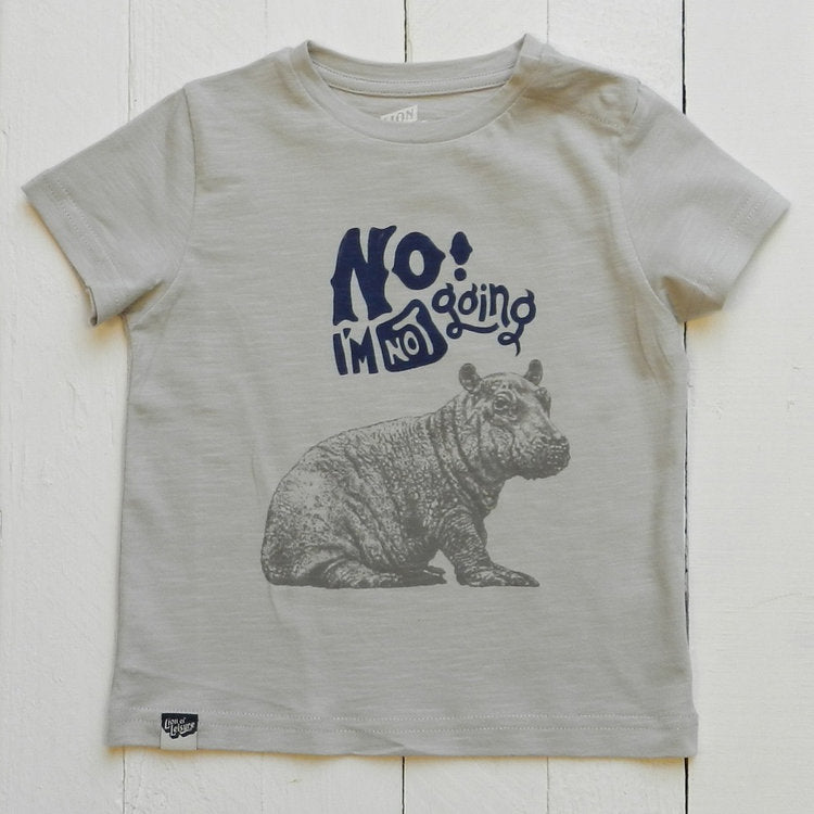 Lion Of Leisure - Hippo Baby Tee