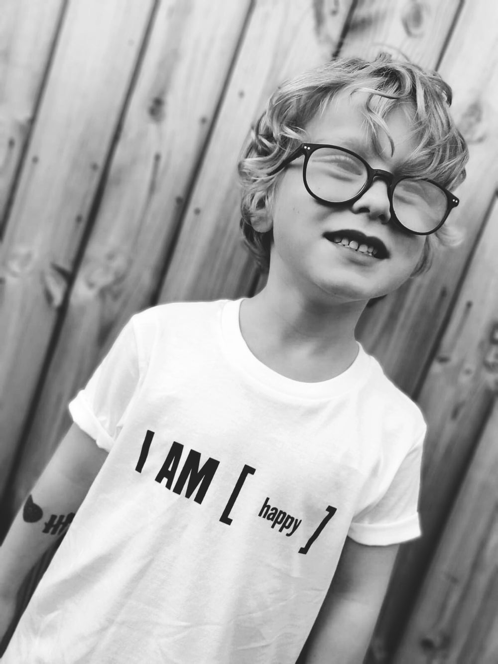 Casey Is - I AM [happy] T-Shirt