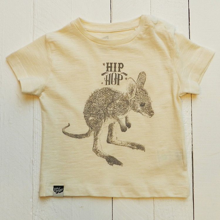 Lion Of Leisure - Kangaroo Baby Tee