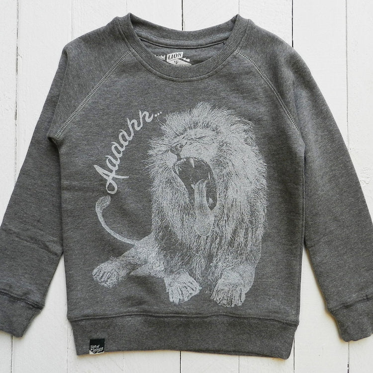 Lion of Leisure - Lion Kids Sweatshirt