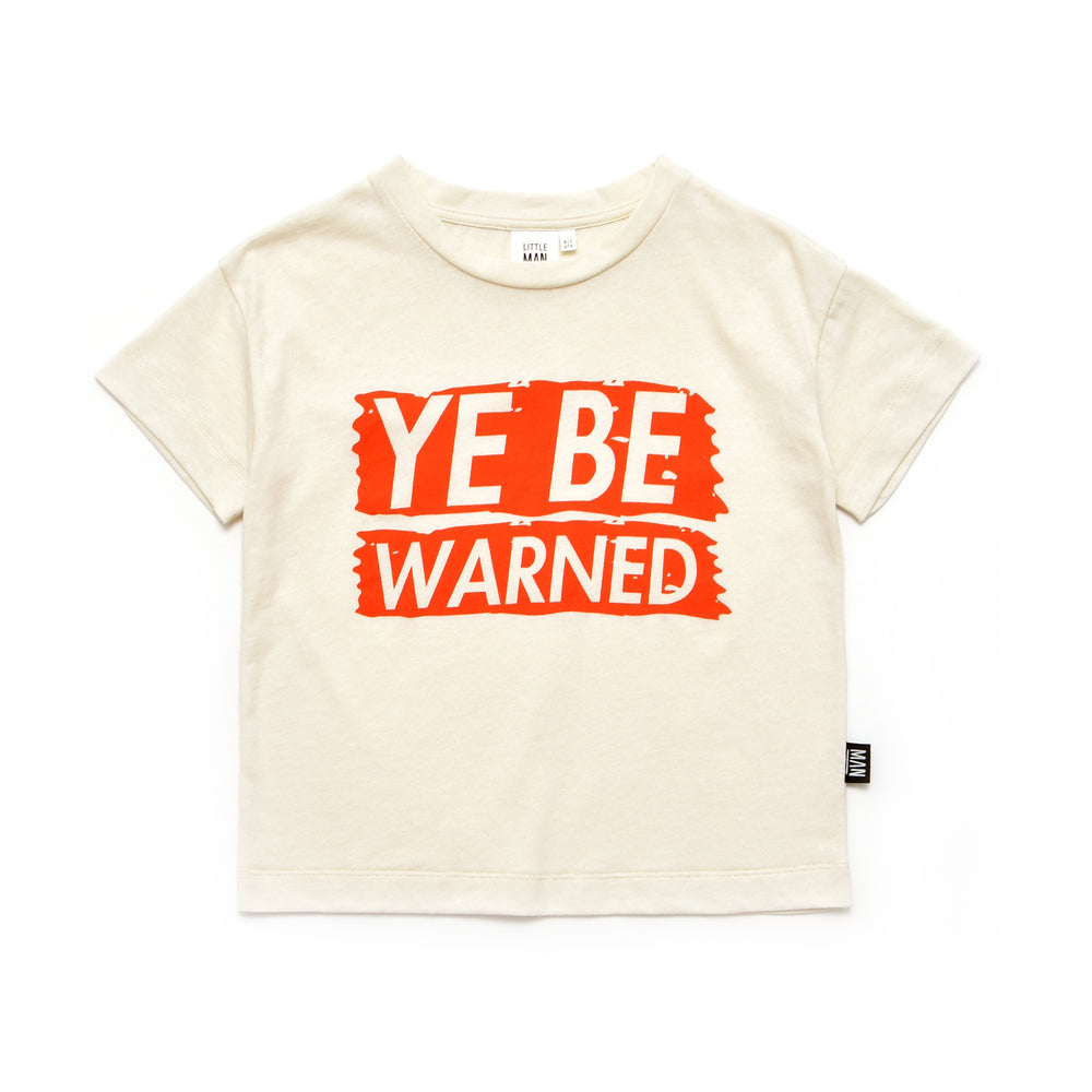 "Little Man Happy - ""Ye Be Warned"" Box Shirt"