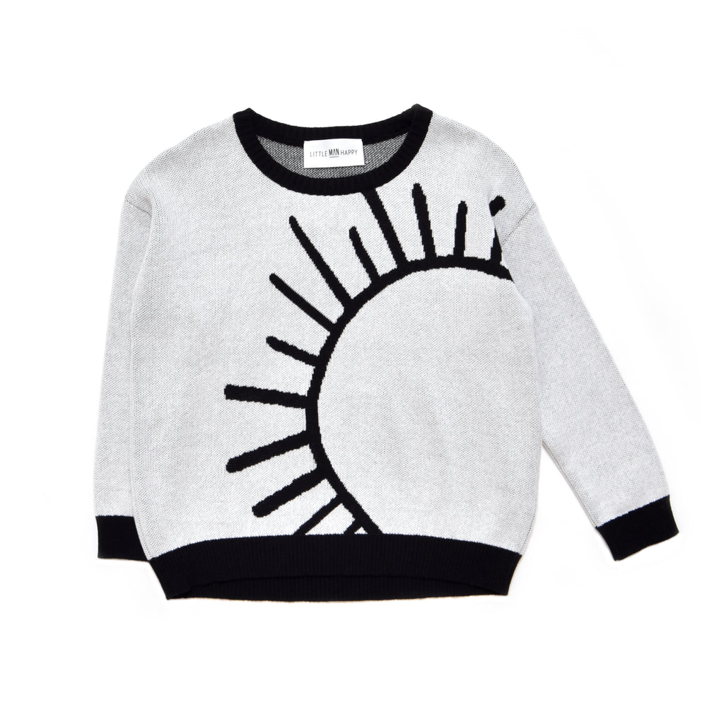 "Little Man Happy - ""Kids Just Wanna Have Sun"" Knit Sweater"