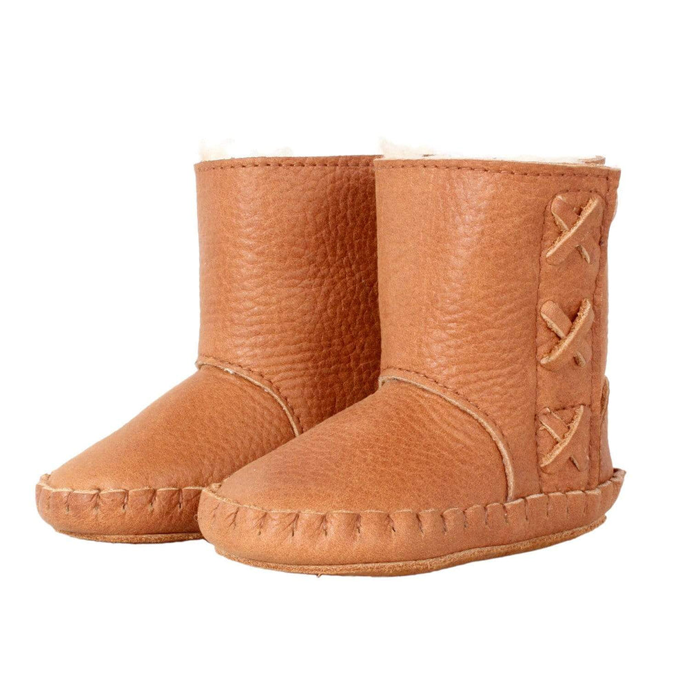 Donsje - Rika Boots - Cognac Leather