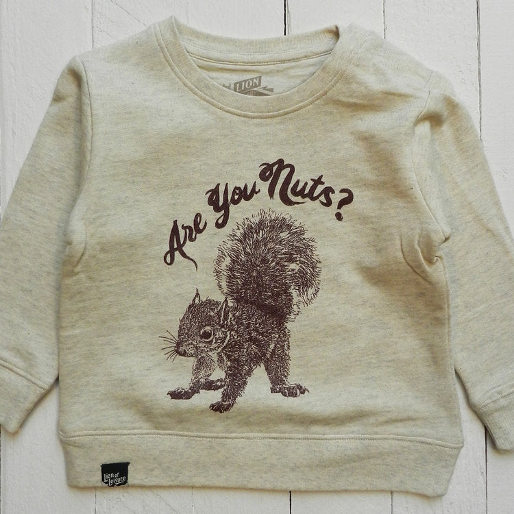 Lion Of Leisure – Squirrel Baby Sweatshirt