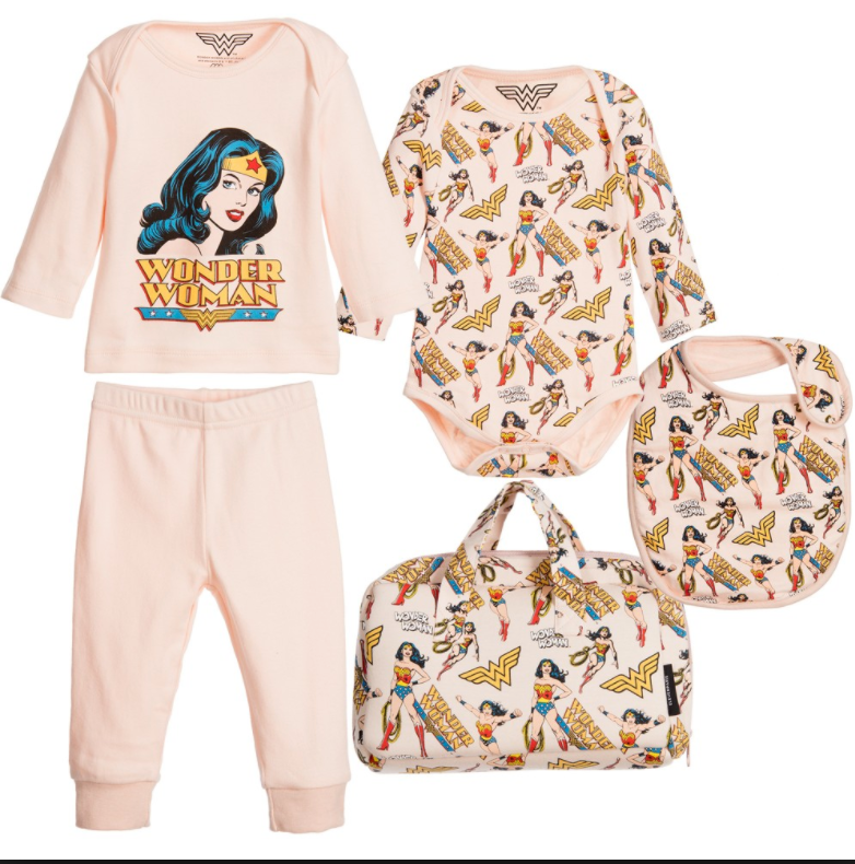 Little Eleven Paris - Wonder Woman 5 Piece Gift Set