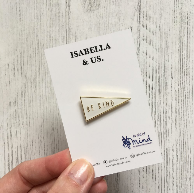 ISABELLA & US - Be Kind Enamel Pin