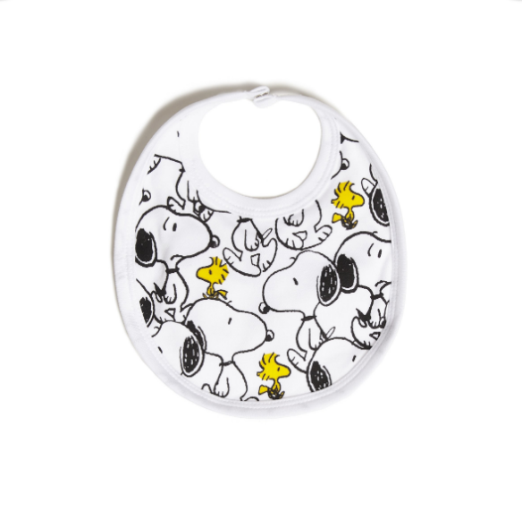 TOBIAS & THE BEAR X PEANUTS - Snoopy & Woodstock Bib