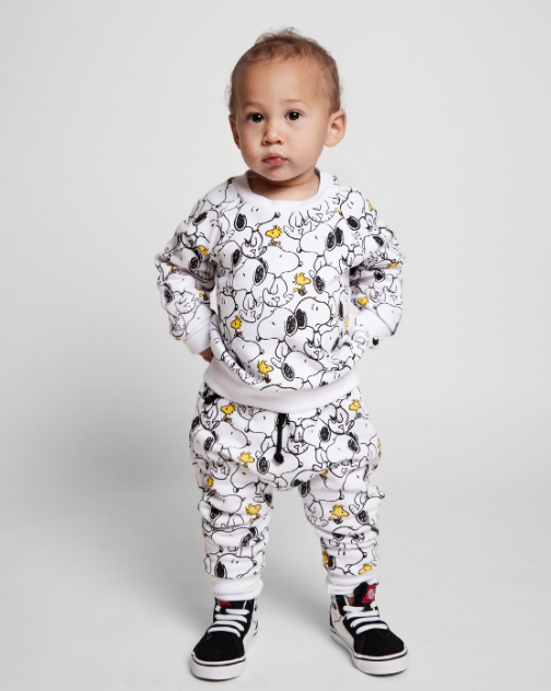 TOBIAS & THE BEAR X PEANUTS - Snoopy & Woodstock Sweatshirt