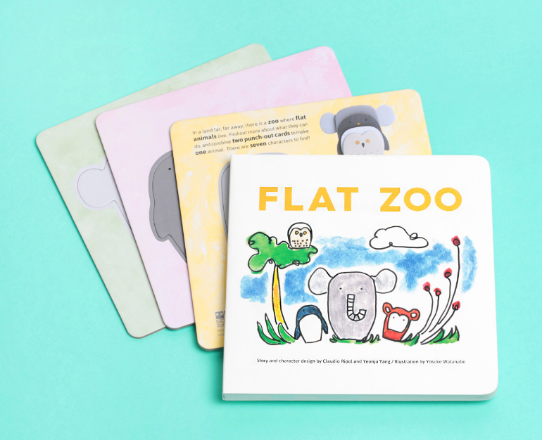 OWL & DOG PLAYBOOKS - Flat Zoo