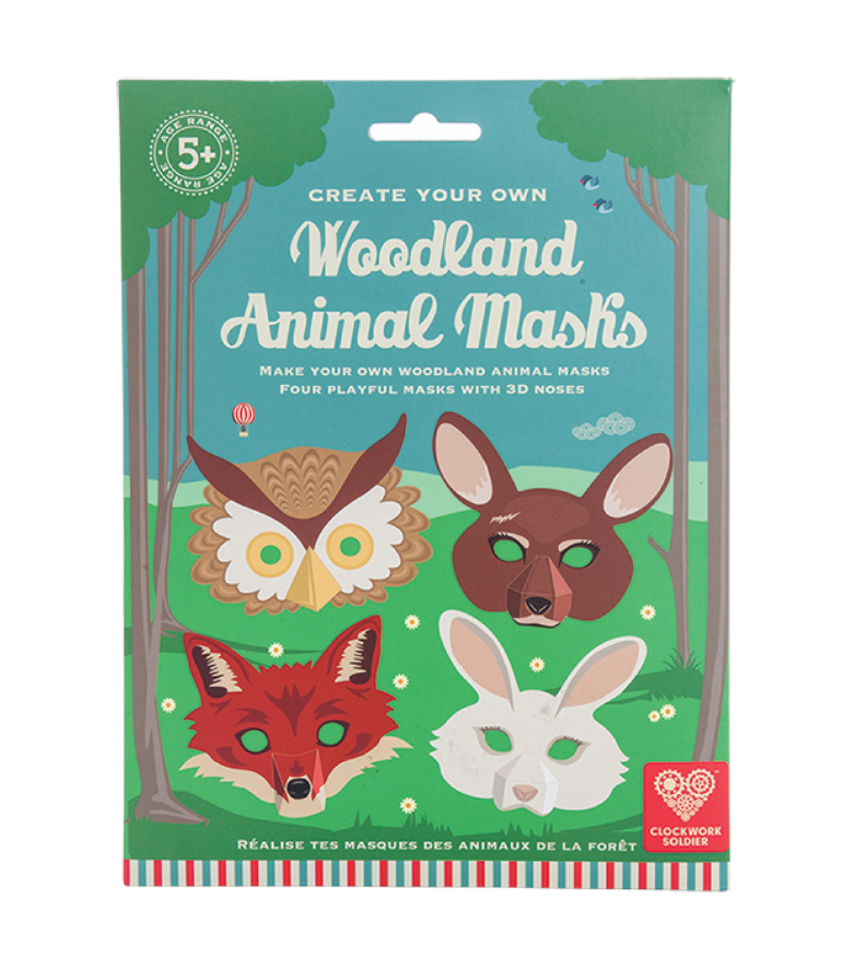 Clockwork Soldier – Woodland Animal Mask Kit