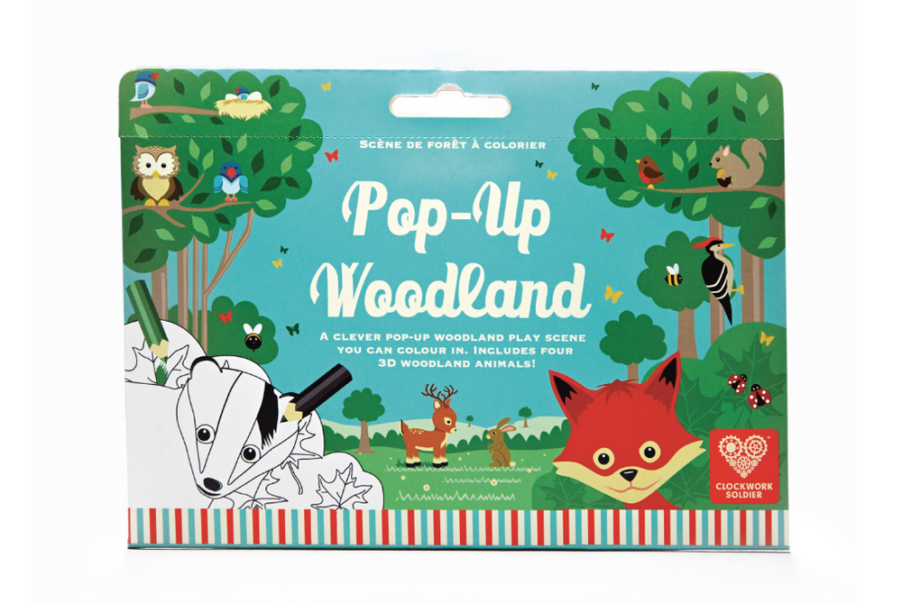 Clockwork Soldier – Pop Up Woodland Colour In Play Scene