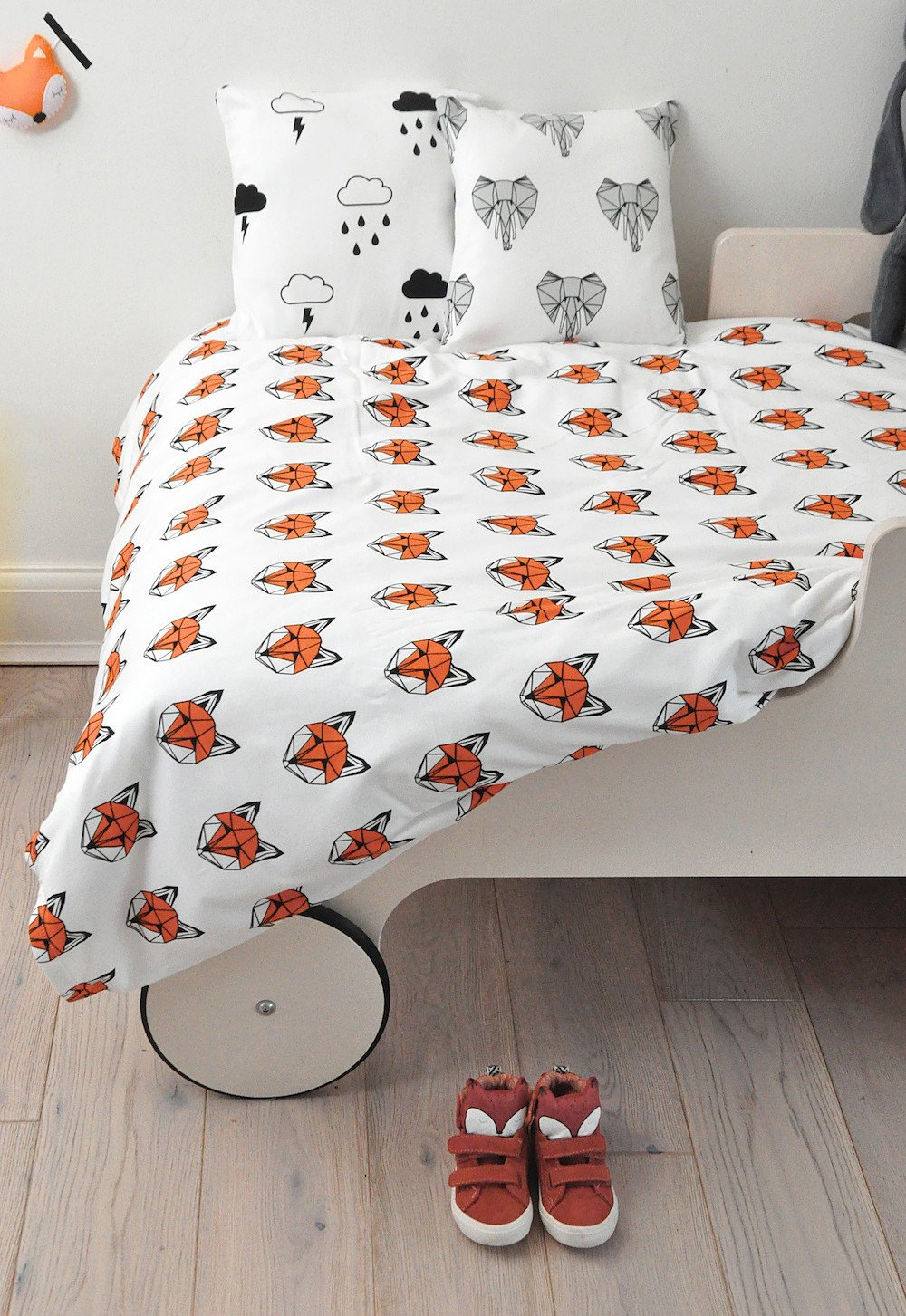 "Tobias & The Bear - ""Just Call Me Fox"" Cotbed Duvet Set"
