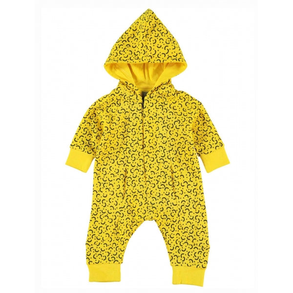 Kidscase - Alf Organic Suit In Yellow