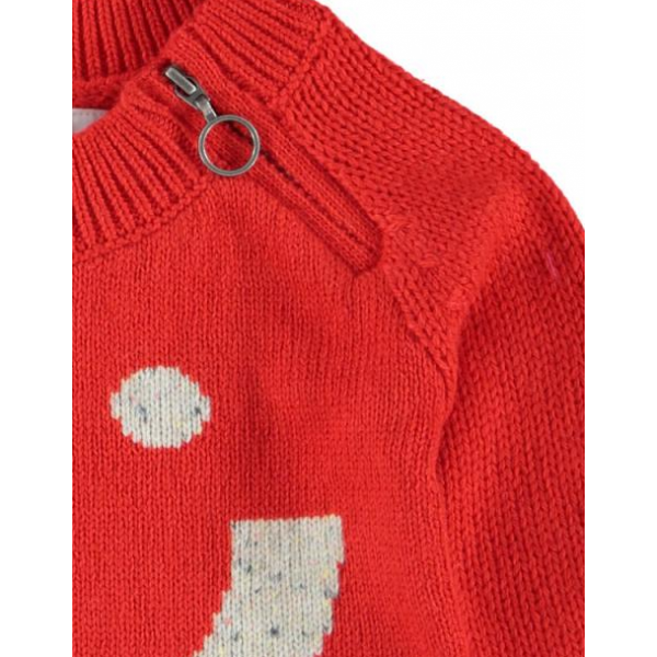 Kidscase - Alf Sweater in Red/White