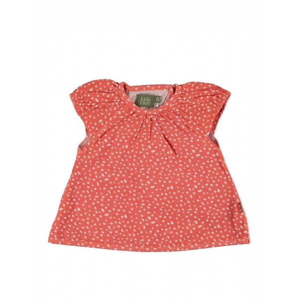 Kidscase - Jess Organic Baby Top In Red