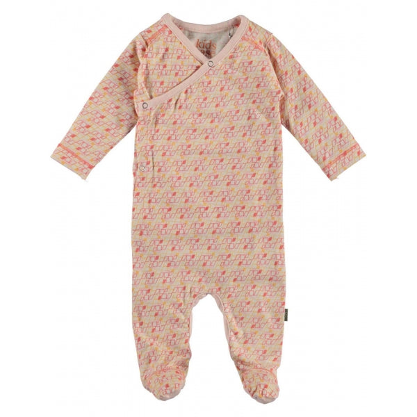 Kidscase - Otto Organic Newborn Suit in Light Pink