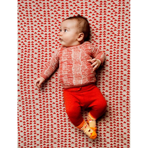 Kidscase - Penny Baby Sweater in Red