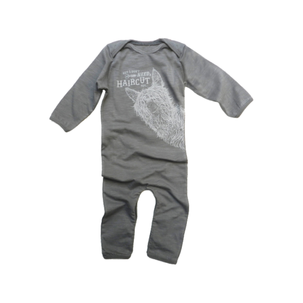 Lion Of Leisure - Lama Baby One Piece Suit