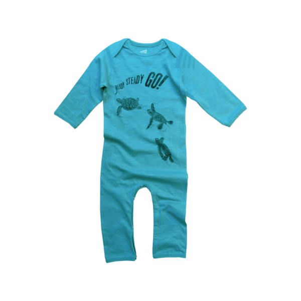 Lion Of Leisure - Turtles Baby One Piece Suit