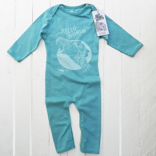 Lion Of Leisure - Tortoise Baby One Piece Suit
