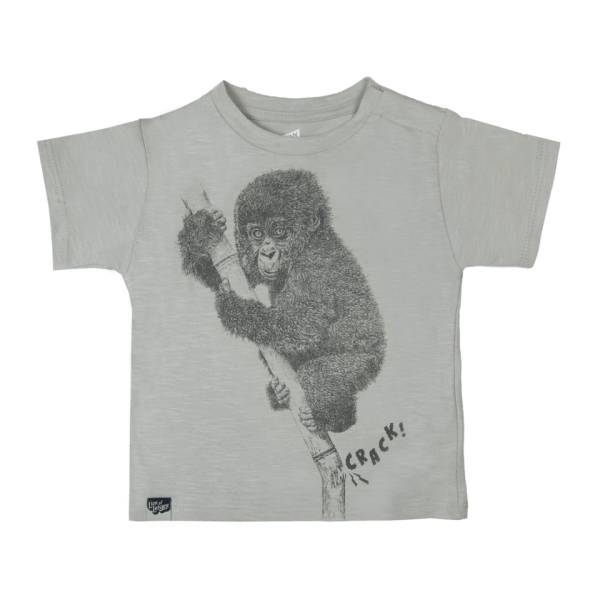 Lion Of Leisure - Chimp Baby Tee