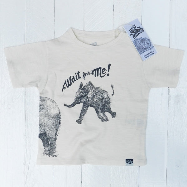 Lion Of Leisure - Elephant Baby Tee