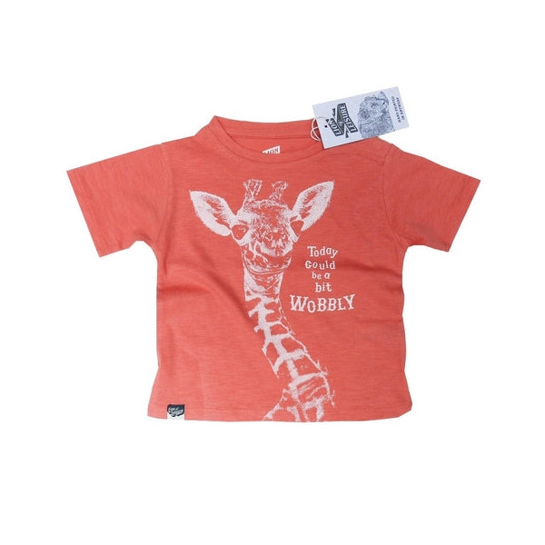 Lion Of Leisure - Giraffe Baby Tee