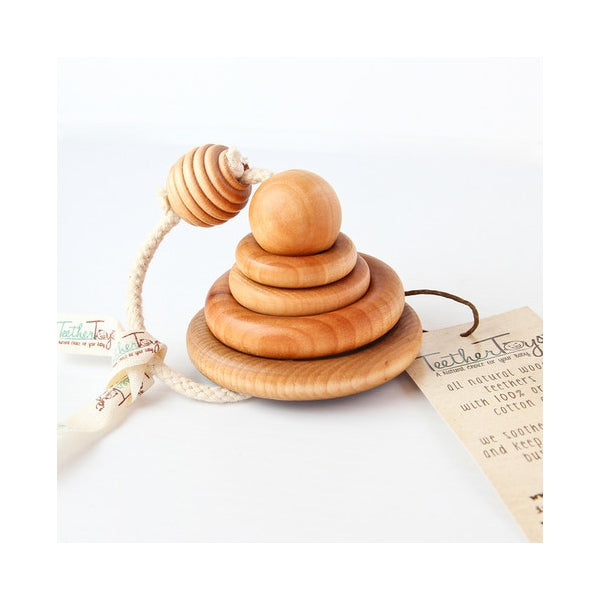 Teether Toys - Natural Ring Stacker