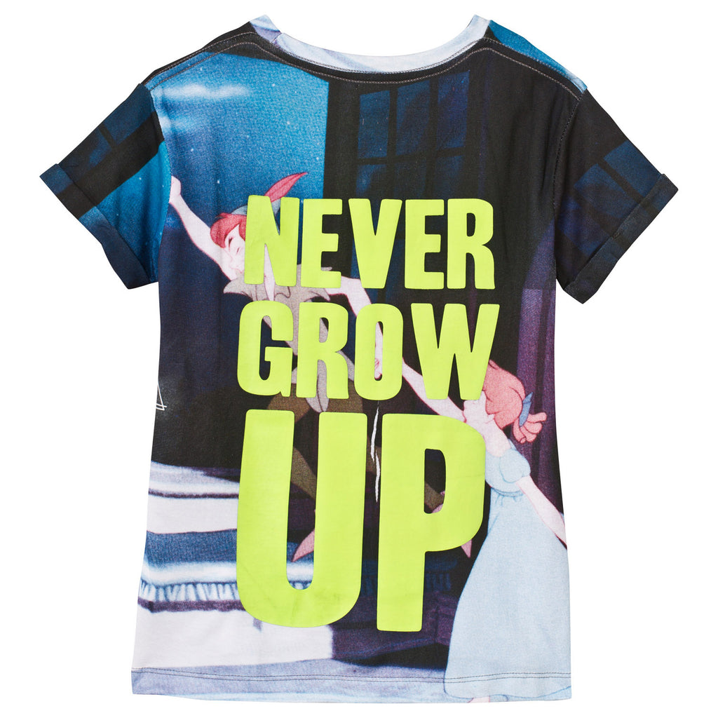 Little Eleven Paris – Never Grow Up Peter Pan Print Tee