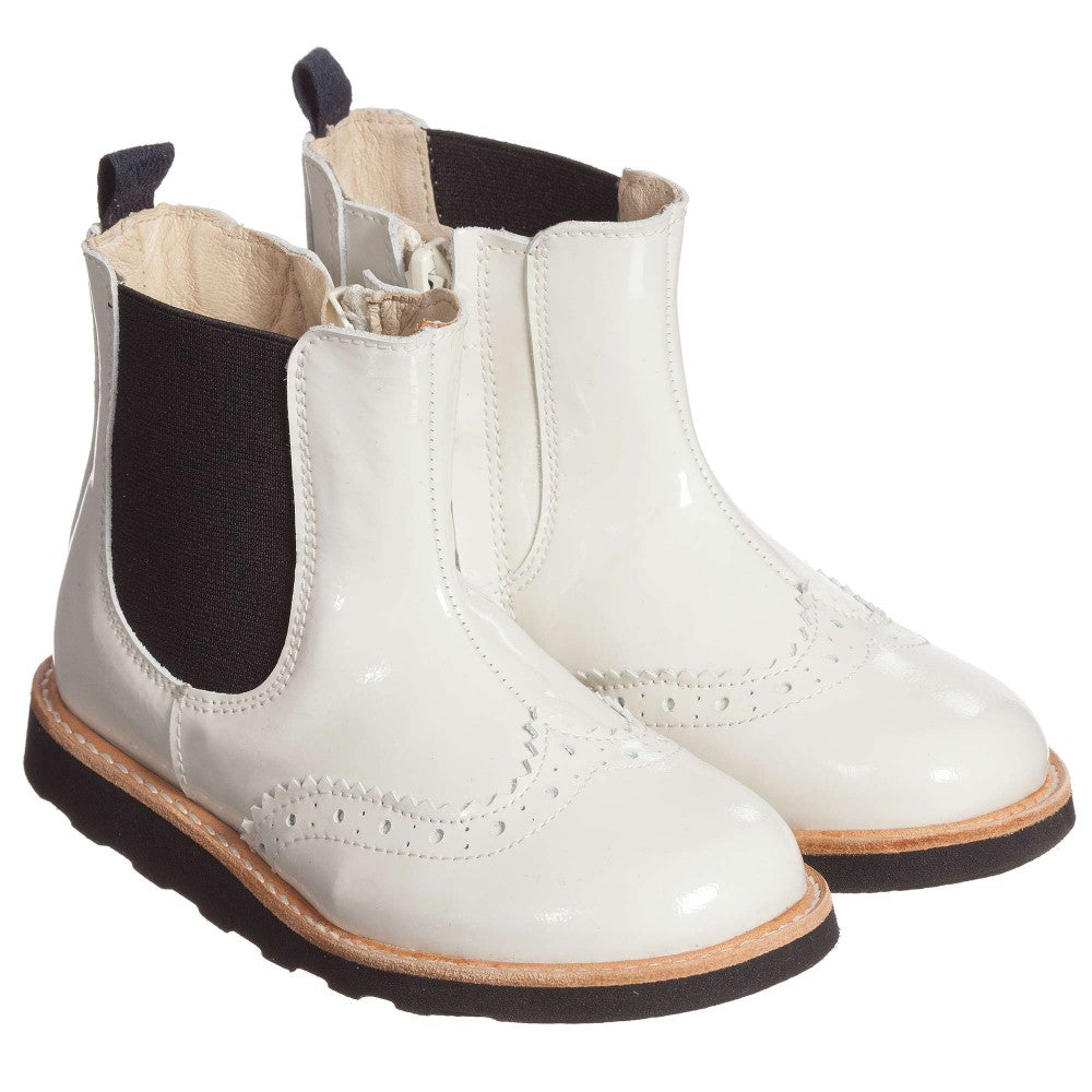 Young Soles - Francis Chelsea Boot - White