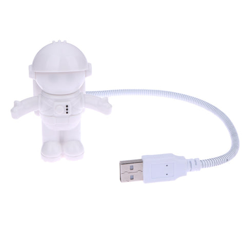 Funny Astronaut USB LED Light Flexible - For Computers - Paradisegadgets.com