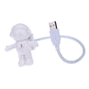 Image of Funny Astronaut USB LED Light Flexible - For Computers - Paradisegadgets.com
