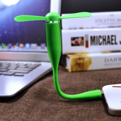 USB Fan - Flexible - Paradisegadgets.com