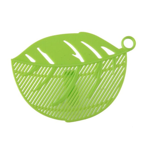 Durable Clean Leaf Shape Rice Wash Sieve - Paradisegadgets.com