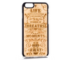 Image of iPhone/Samsung - Wood The Meaning Phone Cover - Handcrafted - Paradisegadgets.com