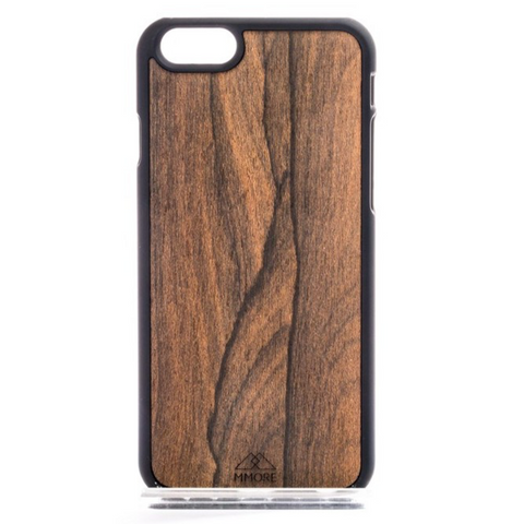 iPhone/Samsung - Wood Ziricote Phone Cover - Handcrafted - Paradisegadgets.com