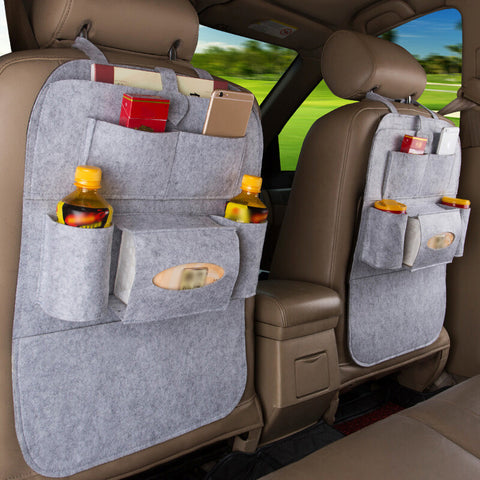 Car Back Seat Storage Holder With Multi-Pockets - Paradisegadgets.com