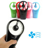 Image of Rechargeable Cooling Fan with USB - Handheld - Paradisegadgets.com