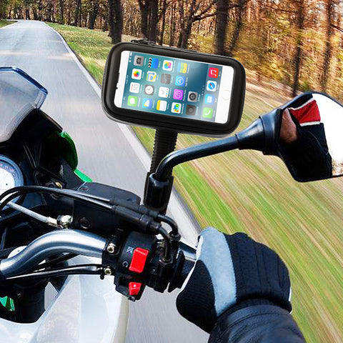 Universal Waterproof Motorcycle/Bike/Scooter Phone Holder - Paradisegadgets.com