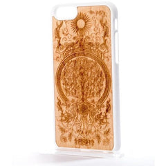 iPhone/Samsung - Wood Tree of Life Phone Cover - Handcrafted